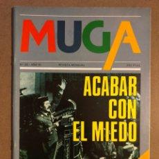 Coleccionismo de Revistas y Periódicos: MUGA N° 20 (1982). 23-F TEJERO, LA VIOLENCIA Y SUS CAUSAS, JOSÉ MARÍA BUSCA ISUSI,.... Lote 195513347