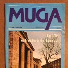Coleccionismo de Revistas y Periódicos: MUGA N° 29 (FEBRERO 1984). LTH ESTRUCTURA DE EUSKADI, MAURICIO FLORES, KAPEROTXIPI,.... Lote 195513380