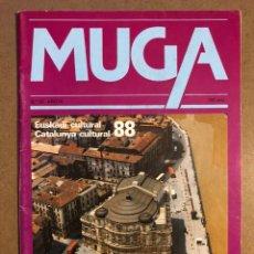 Coleccionismo de Revistas y Periódicos: MUGA N° 67 (1988). EUSKADI Y CATALUNYA CULTURAL 1988.. Lote 195513481
