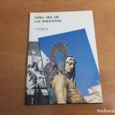 Coleccionismo de Revistas y Periódicos: SEMANA SANTA CUENCA NTRA SRA DE LAS ANGUSTIAS 5 PROGRAMAS. Lote 195513870