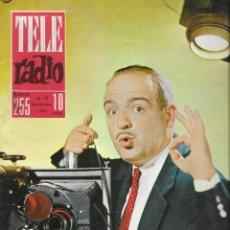 Coleccionismo de Revistas y Periódicos: REVISTA TELE RADIO Nº 255,12-18 NOVIEMBRE 1962, CONCHITA BAUTISTA EN PAGINAS INTERIORES. Lote 195516483