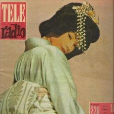 Coleccionismo de Revistas y Periódicos: REVISTA TELE RADIO Nº 226, 23-29 ABRIL 1962, SHIRLEY MAC LAINE.. Lote 195517023