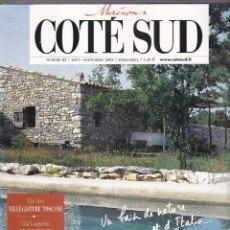 Coleccionismo de Revistas y Periódicos: REVISTA MAISONS CÔTE SUD Nº 83 - SEPTIEMBRE 2003 - FRANCÉS. Lote 195518896