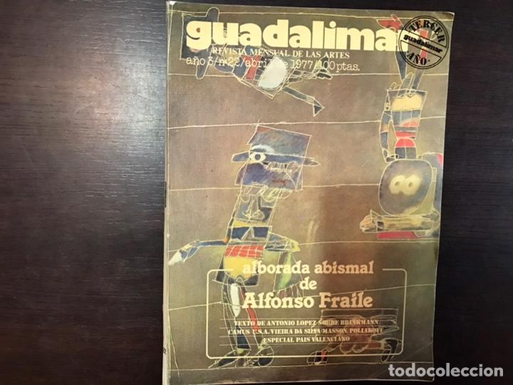 Coleccionismo de Revistas y Periódicos: Guadalimar. Revista. 16 ejemplares. Con dossier interior monográfico. - Foto 3 - 195525005