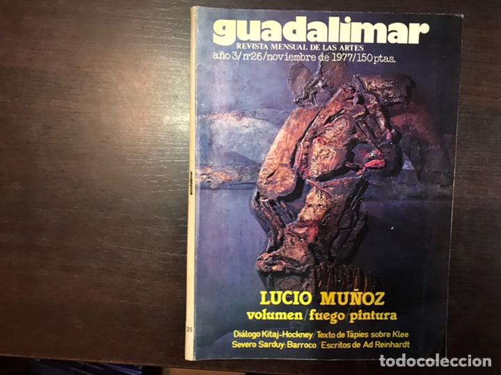 Coleccionismo de Revistas y Periódicos: Guadalimar. Revista. 16 ejemplares. Con dossier interior monográfico. - Foto 9 - 195525005