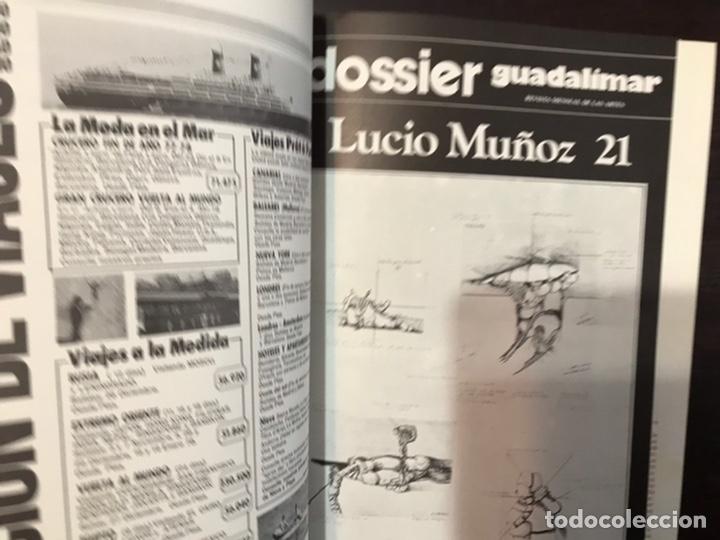 Coleccionismo de Revistas y Periódicos: Guadalimar. Revista. 16 ejemplares. Con dossier interior monográfico. - Foto 10 - 195525005