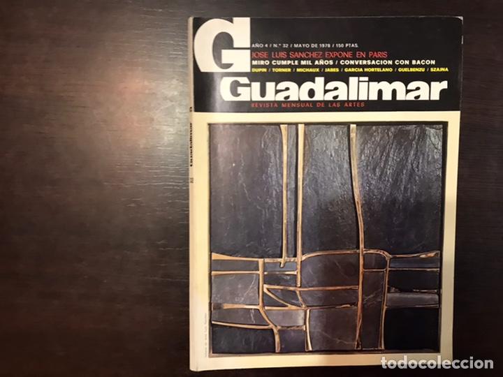 Coleccionismo de Revistas y Periódicos: Guadalimar. Revista. 16 ejemplares. Con dossier interior monográfico. - Foto 11 - 195525005
