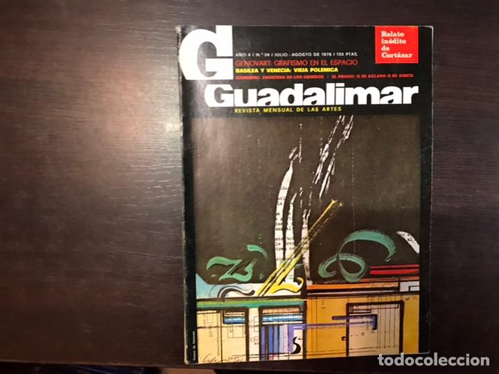 Coleccionismo de Revistas y Periódicos: Guadalimar. Revista. 16 ejemplares. Con dossier interior monográfico. - Foto 14 - 195525005