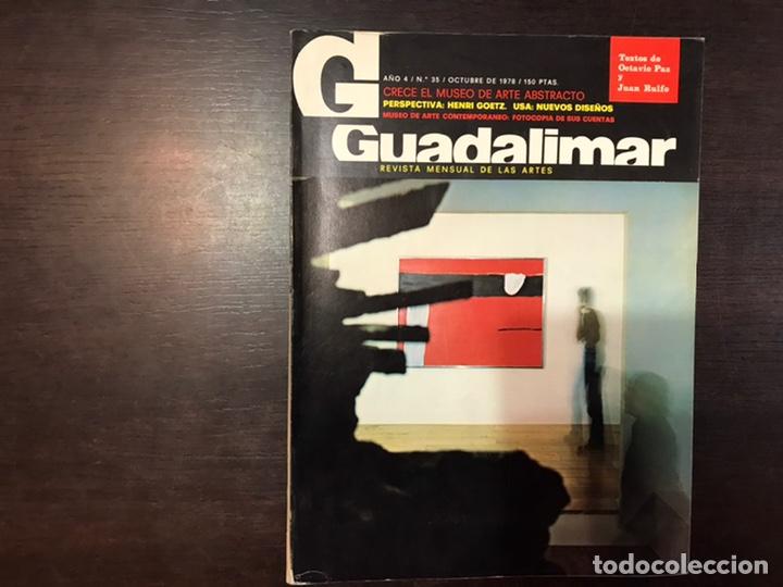 Coleccionismo de Revistas y Periódicos: Guadalimar. Revista. 16 ejemplares. Con dossier interior monográfico. - Foto 16 - 195525005