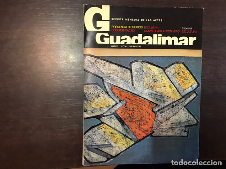 Coleccionismo de Revistas y Periódicos: Guadalimar. Revista. 16 ejemplares. Con dossier interior monográfico. - Foto 20 - 195525005