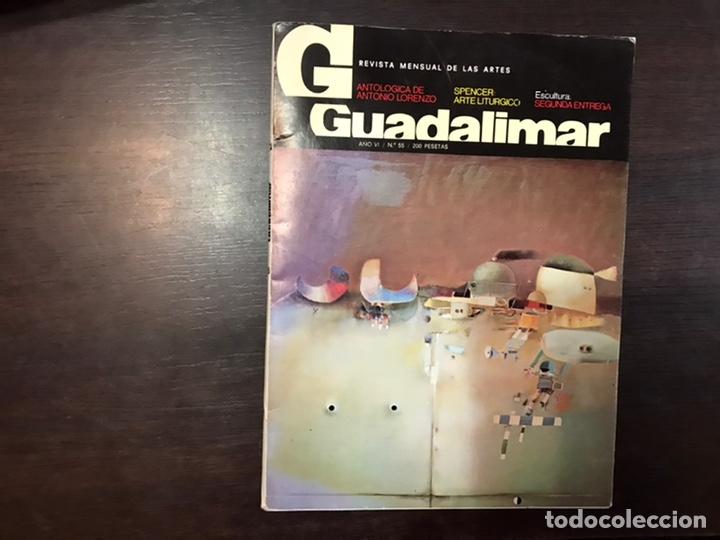Coleccionismo de Revistas y Periódicos: Guadalimar. Revista. 16 ejemplares. Con dossier interior monográfico. - Foto 22 - 195525005
