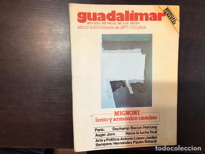 GUADALIMAR. REVISTA. 16 EJEMPLARES. CON DOSSIER INTERIOR MONOGRÁFICO. (Coleccionismo - Revistas y Periódicos Modernos (a partir de 1.940) - Otros)