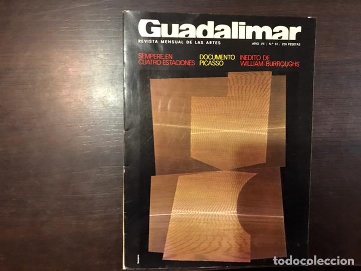 Coleccionismo de Revistas y Periódicos: Guadalimar. Revista. 16 ejemplares. Con dossier interior monográfico. - Foto 28 - 195525005