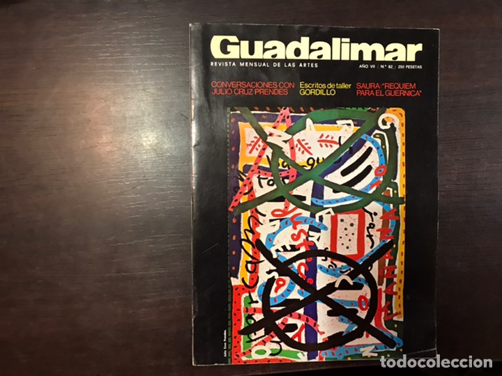 Coleccionismo de Revistas y Periódicos: Guadalimar. Revista. 16 ejemplares. Con dossier interior monográfico. - Foto 30 - 195525005