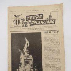 Coleccionismo de Revistas y Periódicos: TERRA VALENCIANA AÑO III N.º 5. BOLETIN DE ESTUDIOS VALENCIANOS 1956. Lote 195526945