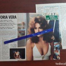 Coleccionismo de Revistas y Periódicos: VICTORIA VERA - RECORTE 4 PAG. - REVISTA BLANCO Y NEGRO AÑO 1975. Lote 195536691