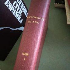 Coleccionismo de Revistas y Periódicos: SUPLEMENTOS DE ABC - 1968 - I 1 - TOMO TAPA DURA. Lote 195536948