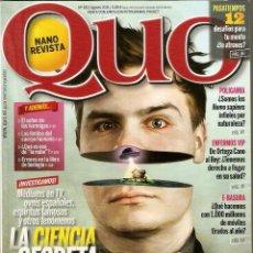 Coleccionismo de Revistas y Periódicos: REVISTA QUO Nº 191 - AGOSTO 2011 - NANO REVISTA. Lote 195542895