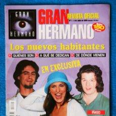 Coleccionismo de Revistas y Periódicos: GRAN HERMANA - REVISTA N° 1 JUNIO 2000. Lote 195548200