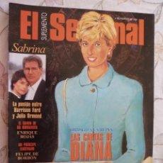 Coleccionismo de Revistas y Periódicos: SUPLEMENTO EL SEMANAL / LAS CARTAS DE DIANA / Nº 432 - 1996. Lote 195549080