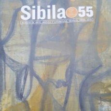 Coleccionismo de Revistas y Periódicos: SIBILA REVISTA DE ARTE MUSICA Y LITERATURA LOTE NUMS. 55, 56, 57, 58, 59. ABRIL 2018 A OCTUBRE 2019. Lote 195549576