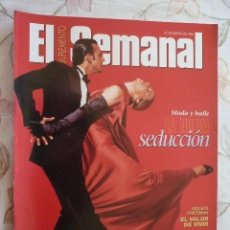Coleccionismo de Revistas y Periódicos: SUPLEMENTO EL SEMANAL / LA NUEVA SEDUCCIÓN / Nº 430 - 1996. Lote 195551398