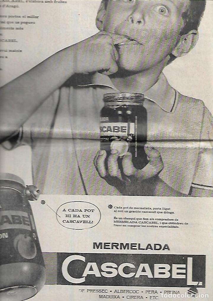 Coleccionismo de Revistas y Periódicos: AÑO 1966 FRANCESC PUJOLS PAU VILA TERRASSA CANTONIGROS MERMELADA CASCABEL CANTIRS ARGENTONA - Foto 7 - 12880002