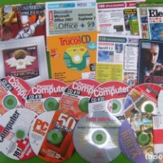 Coleccionismo de Revistas y Periódicos: LOTE DE 22 CD Y DVD DE REVISTAS Y ESPECIALES -COMPUTER HOY, PERSONAL COMPUTER, PC TODAY. Lote 195573277