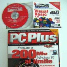 Coleccionismo de Revistas y Periódicos: PC PLUS, NºS 1+2+3 COMPLETAS CON SUPERCDS. Lote 143696174