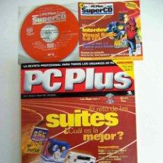 Coleccionismo de Revistas y Periódicos: PC PLUS, NºS 4+5+9 COMPLETAS CON SUPERCDS. Lote 143697318