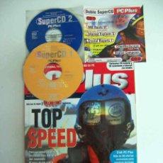 Coleccionismo de Revistas y Periódicos: PC PLUS, NºS 28+66+82 COMPLETAS CON SUPERCDS. Lote 143701074