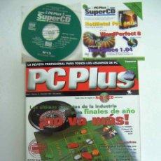 Coleccionismo de Revistas y Periódicos: PC PLUS, NºS 13+14+15 COMPLETAS CON SUPERCDS. Lote 143702674