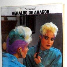 Collezionismo di Riviste e Giornali: SEMANAL HERALDO ARAGÓN Nº235 MARZO 1987. FRANCO BATTIATO - PEUGEOT - JESÚS HERMIDA,... Lote 195727726