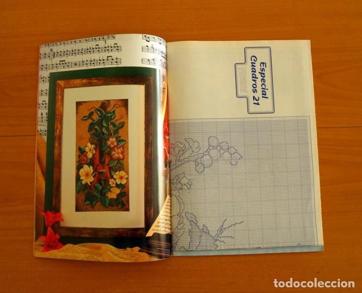 Coleccionismo de Revistas y Periódicos: Revista - Cuadros 21 en Punto de Cruz - Con Patrones - Ediciones Muestras y Motivos - Foto 2 - 207118761