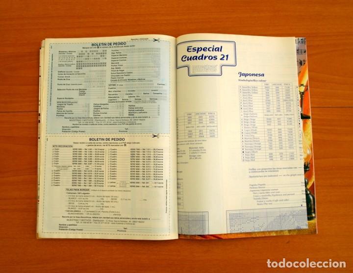 Coleccionismo de Revistas y Periódicos: Revista - Cuadros 21 en Punto de Cruz - Con Patrones - Ediciones Muestras y Motivos - Foto 5 - 207118761