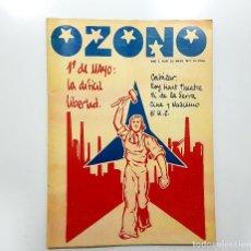 Coleccionismo de Revistas y Periódicos: REVISTA OZONO Nº 20 1977 DOSSIER 1º DE MAYO, CORTÁZAR, GONZALO SUAREZ, PI DE LA SERRA,TRIANA, CEDRÓN. Lote 195776126