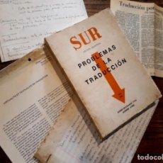 Coleccionismo de Revistas y Periódicos: REVISTA SUR PROBLEMAS DE LA TRADUCCIÓN BORGES, A. REYES, REST, ETC. Lote 195963562