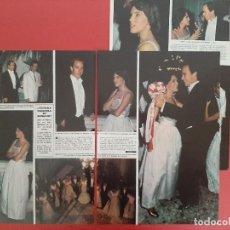 Coleccionismo de Revistas y Periódicos: ALBERTO DE MONACO CON ILARIA FERRERO - - RECORTE 4 PAG - REVISTA HOLA AÑO 1983. Lote 196070323