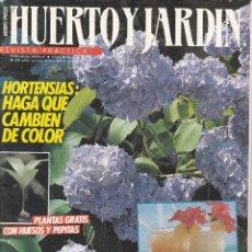 Coleccionismo de Revistas y Periódicos: 6 REVISTAS HUERTO Y JARDIN, DE JARDINERIA Y CULTIVO DE HUERTOS. Lote 196140077