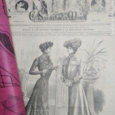Coleccionismo de Revistas y Periódicos: LOTE 16 REVISTAS EL SALÓN DE LA MODA. Lote 196199405