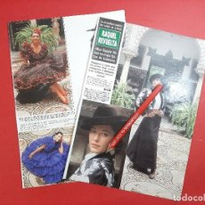 Coleccionismo de Revistas y Periódicos: RAQUEL REVUELTA MISS ESPAÑA 1989 LUCE TRAJES ANDALUCIA-ENTREVIST-RECORTE 3 PAG-REVISTA HOLA AÑO 1989. Lote 196213712