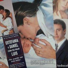 Coleccionismo de Revistas y Periódicos: ESTEFANIA MONACO DANIEL DUCRUET PRIMERA FOTOS HIJO LUIS - - RECORTE 15 PAG - REVISTA HOLA AÑO 1992. Lote 196311945