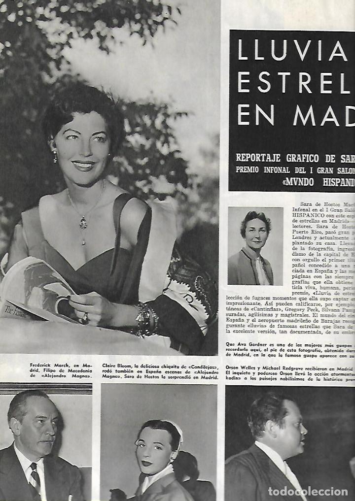 Coleccionismo de Revistas y Periódicos: AÑO 1955 ALCAN INDUSTRIA ALUMINIO IBERICO ALICANTE ESTRELLAS CINE EN MADRID AVIACION BODAS DE ORO. - Foto 4 - 13195335
