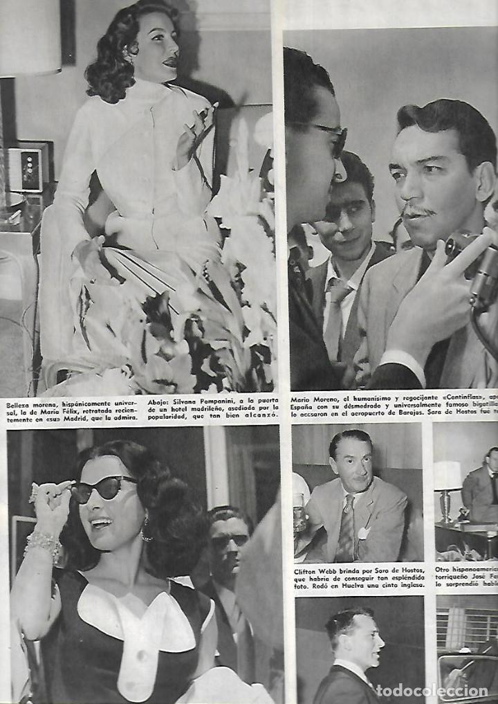 Coleccionismo de Revistas y Periódicos: AÑO 1955 ALCAN INDUSTRIA ALUMINIO IBERICO ALICANTE ESTRELLAS CINE EN MADRID AVIACION BODAS DE ORO. - Foto 5 - 13195335