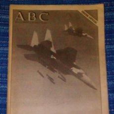 Coleccionismo de Revistas y Periódicos: VENDO ABC, JUEVES 17/1/1991 (ESTALLA LA GUERRA DEL GOLFO) VER MAS FOTOS.. Lote 196562894