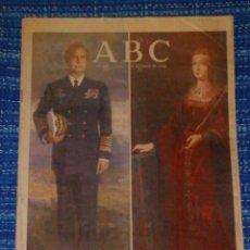 Coleccionismo de Revistas y Periódicos: VENDO ABC, LUNES 12/10/1992 (500 AÑOS DESPUÉS), VER MAS FOTOS.. Lote 196563054