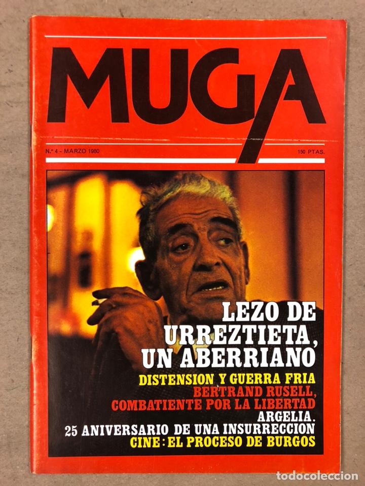 Coleccionismo de Revistas y Periódicos: MUGA. LOTE CON LOS 12 PRIMEROS NÚMEROS DE LA REVISTA POLÍTICA VASCA (1979 - 1980). - Foto 5 - 196768235