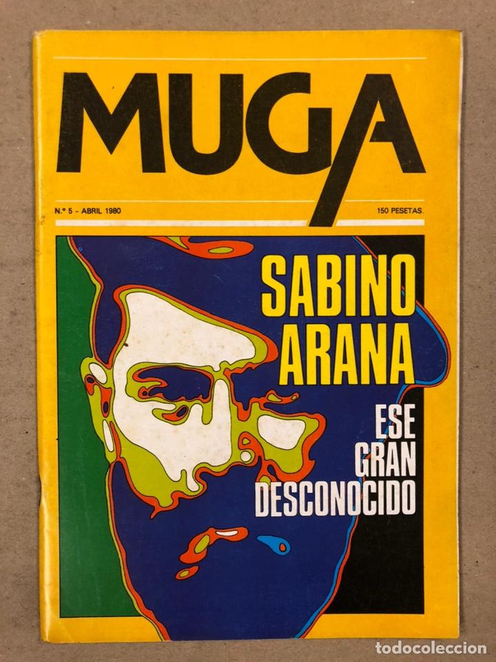 Coleccionismo de Revistas y Periódicos: MUGA. LOTE CON LOS 12 PRIMEROS NÚMEROS DE LA REVISTA POLÍTICA VASCA (1979 - 1980). - Foto 6 - 196768235