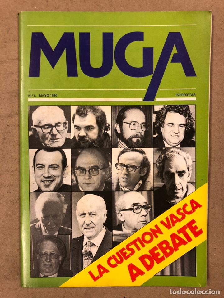Coleccionismo de Revistas y Periódicos: MUGA. LOTE CON LOS 12 PRIMEROS NÚMEROS DE LA REVISTA POLÍTICA VASCA (1979 - 1980). - Foto 7 - 196768235