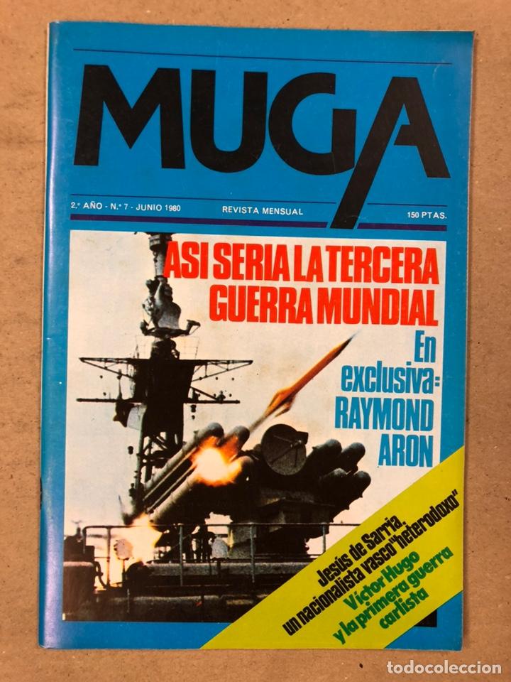 Coleccionismo de Revistas y Periódicos: MUGA. LOTE CON LOS 12 PRIMEROS NÚMEROS DE LA REVISTA POLÍTICA VASCA (1979 - 1980). - Foto 8 - 196768235